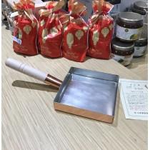 Poêle carrée en cuivre pour tamagoyaki omelette japonaise 15*15cm