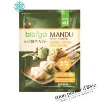 Gyoza coréen goût Poulet&Légumes BIBIGO 600g