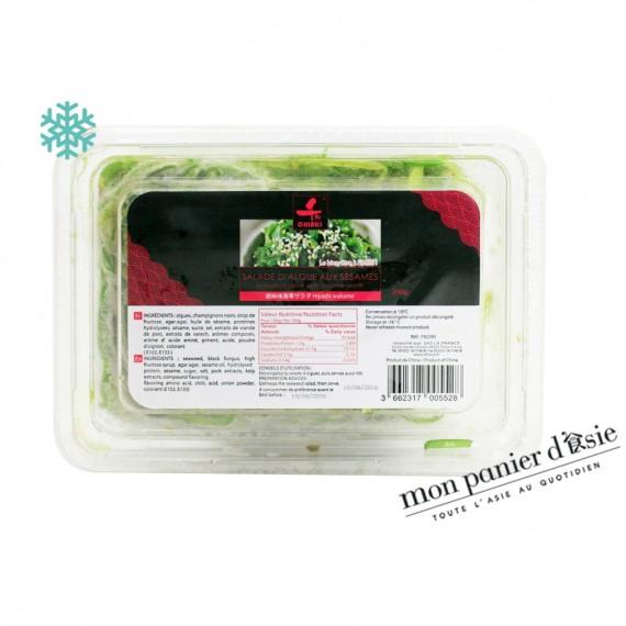 Salade D'algues Au Sésame En Paquet CHIAKI 200g - mon panier d'asie