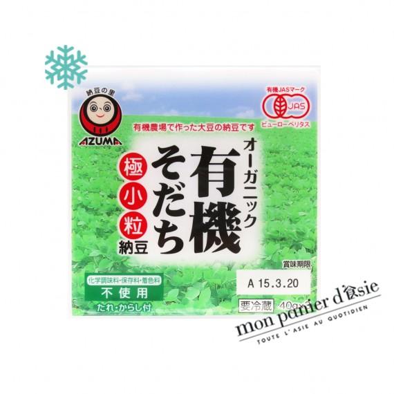 Natto japonais BIO 40g*3p - mon panier d'asie