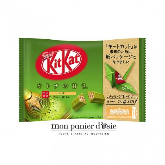 KitKat au thé vert matcha 145g - mon panier d'asie