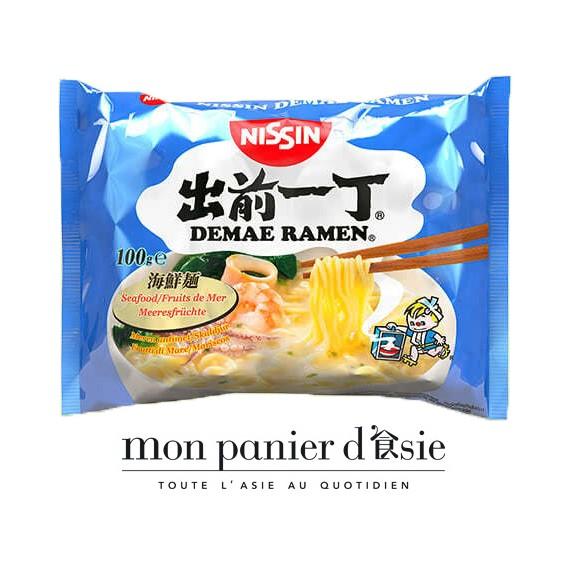 Nouilles instantanées aux fruits de mer NISSIN 100g
