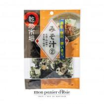 Garniture pour soupe miso (tofu, wakame, gluten de blé et ciboule) 13g