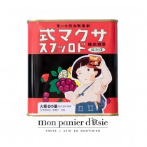 Bonbons durs aux fruits Sakuma Drops Retro 115g - mon panier d'asie