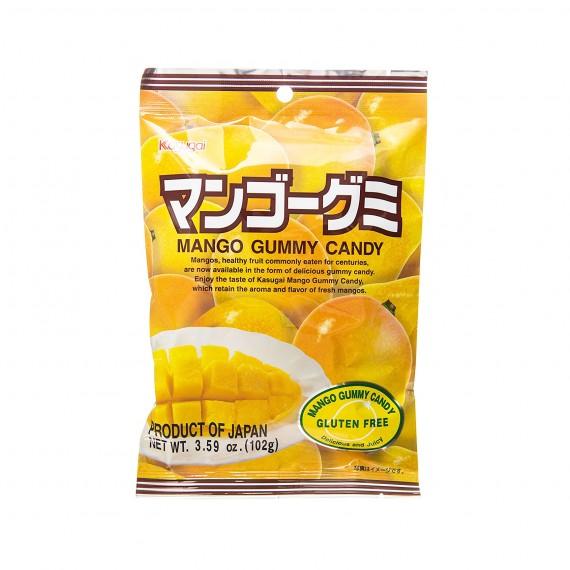 Bonbons Mous à la mangue KASUGAI 108g - mon panier d'asie