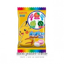Bonbons Pikachu - fraise&melon&pastèque LOTTE 16g - mon panier d'asie