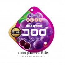 Kororo Bonbons 100% Jus De Raisin Noir UHA 48g