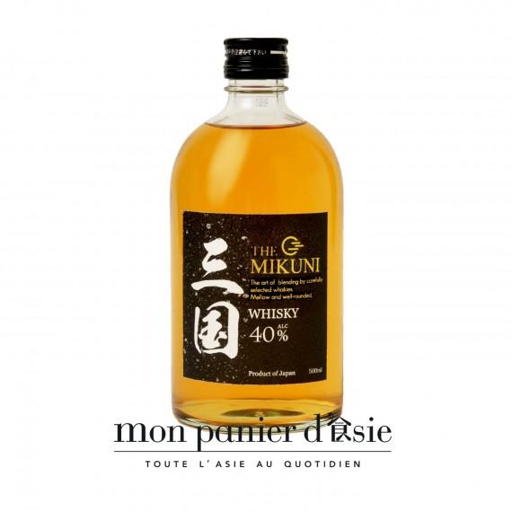 Whisky japonais MIKUNI 40% 50cl - mon panier d'asie