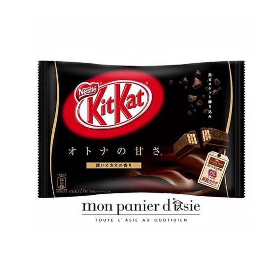 KitKat mini au double chocolat 13pcs - mon panier d'asie