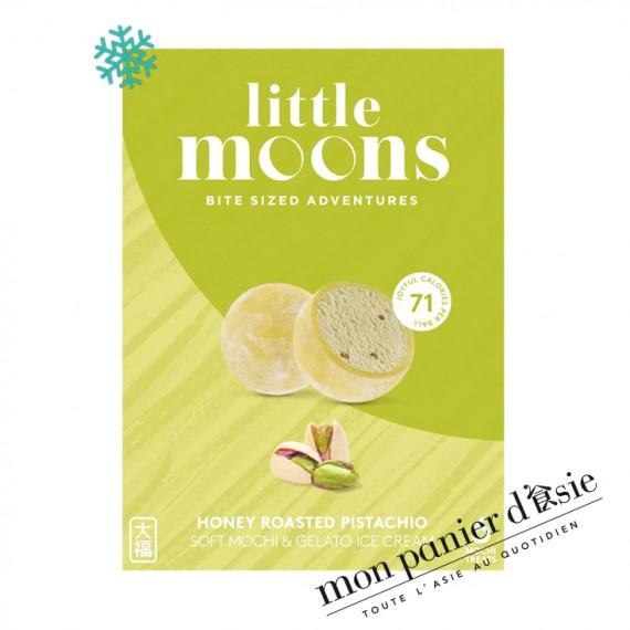 Mochi Glacé à la pistache LITTLE MOONS 6pcs - mon panier d'asie