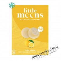 Mochi Glacé au yuzu LITTLE MOONS 6pcs