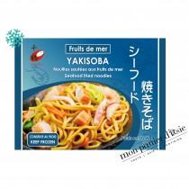 Yakisoba Nouilles sautées aux fruits de mer 280g