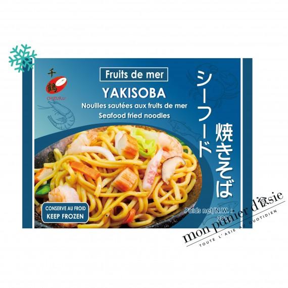 Yakisoba Nouilles sautées aux fruits de mer 280g - mon panier d'asie