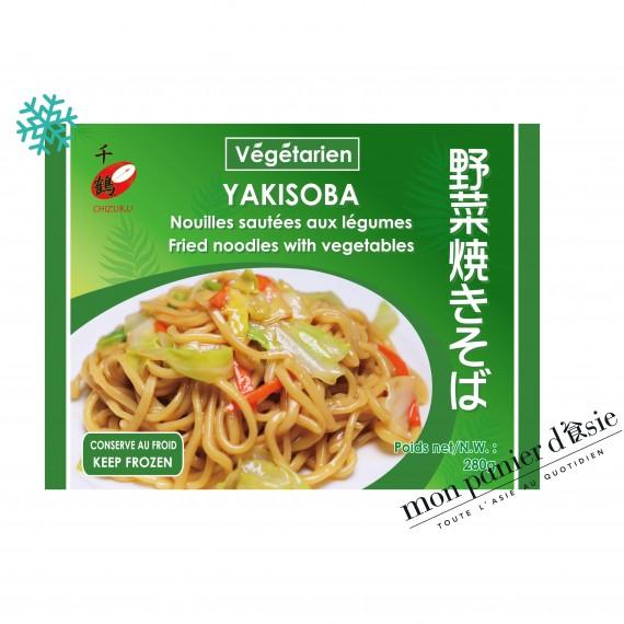 Yakisoba Nouilles sautées aux légumes 280g - mon panier d'asie