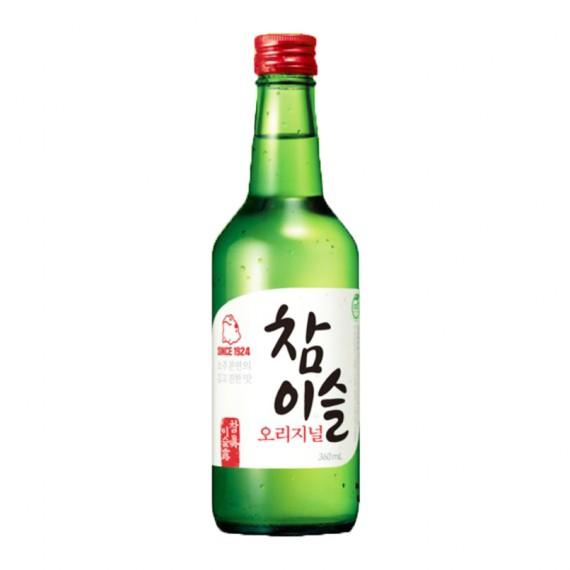 SOJU coréen Chamisul Original 20.1% JINRO 360ml - mon panieir d'asie