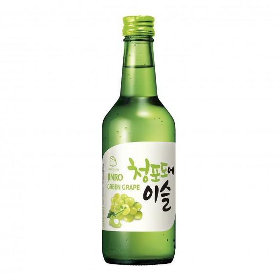 Chum Churum soju raisin blanc 13% 360ml - mon panier d'asie