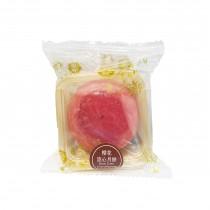 Gâteau de Lune au sakura avec coeur fondant