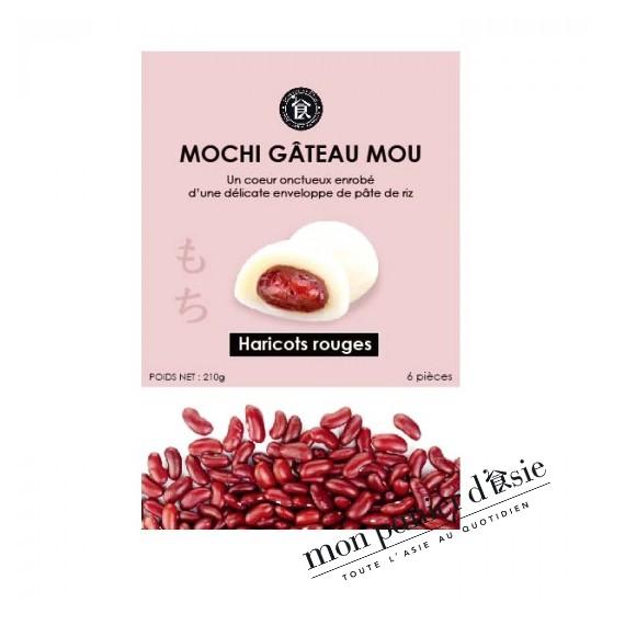 Mochi Gâteau Mou Aux haricots rouges 210g