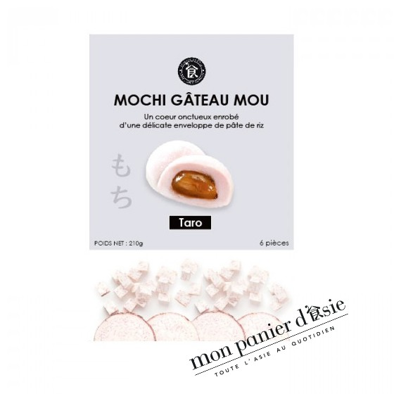 Mochi Gâteau Mou Au taro 210g
