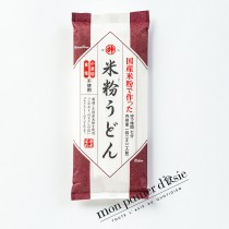 Udon à la farine de riz sans gluten 142g (2 portions) - EJC