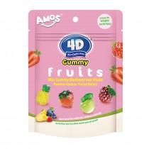 Mix gummy bonbons aux fruits 3D+Délicieux 200g