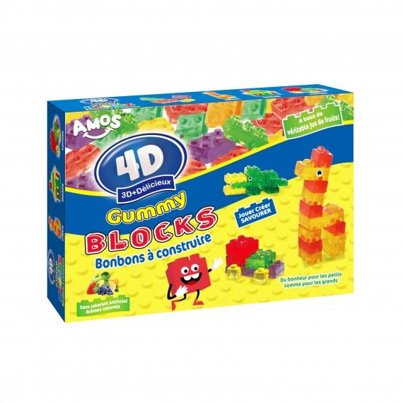 Gummy bonbons à construire 3D+Délicieux Théâtre 200g