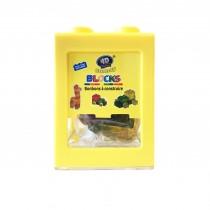 Boîte-tirelire De Gummy Bonbons À Construire 3D+Délicieux JAUNE 80g