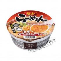 Cup Ramen Sauce Tonkotsu Miso Épicé MENRAKU 80,6g