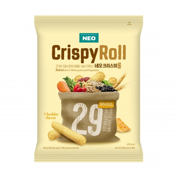 Neo Crispy Roll Cheddar Cheese 80g - mon panier d'asie