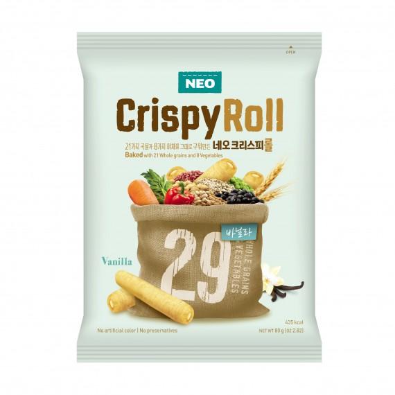 Neo Crispy Roll Goût Vanille 80g - Mon Panier d'Asie