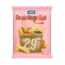 Snack Grain Vege Roll Goût Fraise 80g