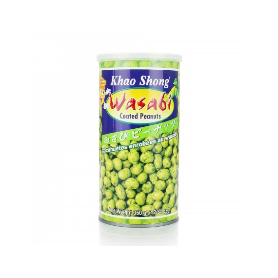 Cacahuètes au wasabi Khao Shong 350g