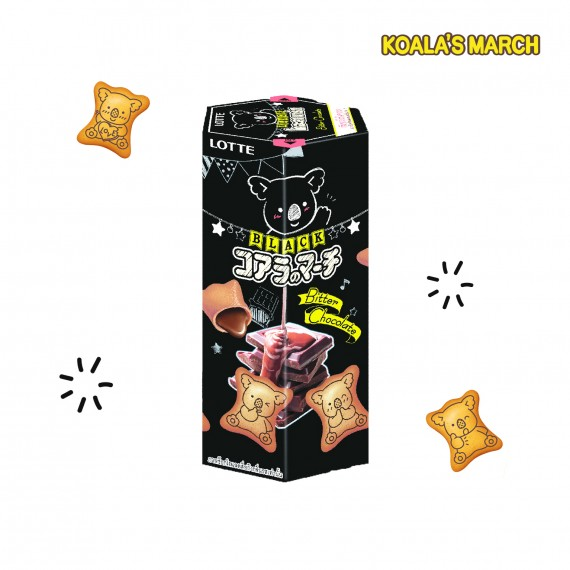 Koala No March Biscuits Cacao & Lait LOTTE 48g - mon panier d'asie