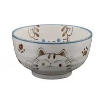 bol chat japonais blanc