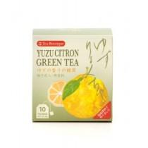 Thé vert au yuzu JAPAN GREENTEA 20g - mon panier d'asie