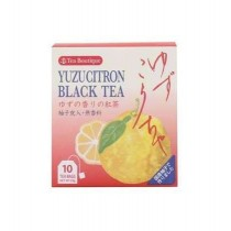 Thé noir au yuzu JAPAN GREENTEA 20g