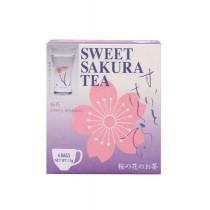 Thé à la fleur de cerisier Sakura alcoolisé JAPAN GREENTEA 2gx4P - mon panier d'asie