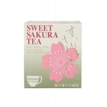 Thé vert Sencha parfumé de fleurs de cerisier Sakura JAPAN GREENTEA 20g - mon panier d'asie