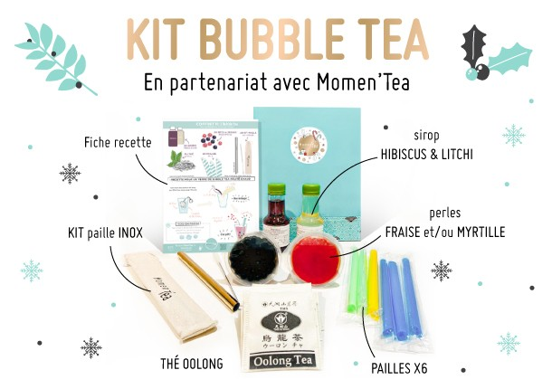 Kit Bubble Tea Momen'Tea